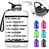 Best Gallon Water Bottles - 1 Gallon Water Bottle with Time Marker Review