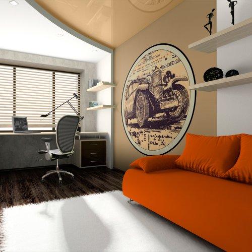 50x50 cm autocollants-stickers muraux 50x50 040209-14 Voiture