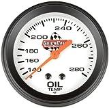 QuickCar Racing Products 611-6009 2-5/8' Diameter Oil Temperature Gauge