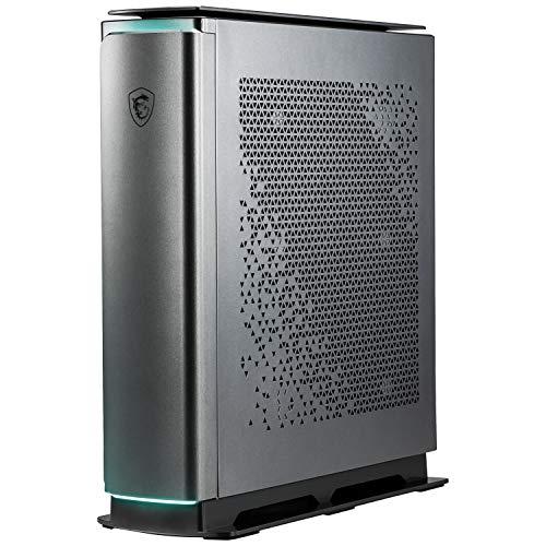 MSI Prestige P100A 9SE-095DE Desktop (Intel Core i7-9700F GeForce RTX 2080 SUPER VENTUS XS, 1TB SSD + 2TB HDD, 64GB DDR4, Windows 10 Professional, Schwarz)