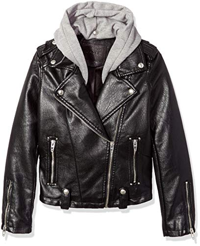 [BLANKNYC] Big Girl's Faux Leather Jackets Outerwear, neo, S