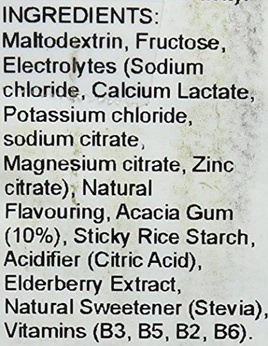 Stealth 600 g Blackcurrant and Elderflower Super Hydration Drink Mix Powder