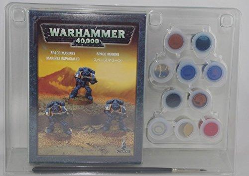 Warhammer : Boite de peinture Space marine