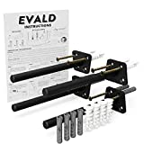 Floating Shelf Hardware - Heavy Duty Floating Shelves Bracket - Perfect Invisible Supports for Fireplace Mantle or Rustic Live Edge Wood Shelving - 6 inch Stainless Support Rod Shelve Kit… (6')