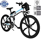 fiugsed 26'' Electric Mountain Bike with Removable Large Capacity Lithium-Ion Battery (36V 250W)