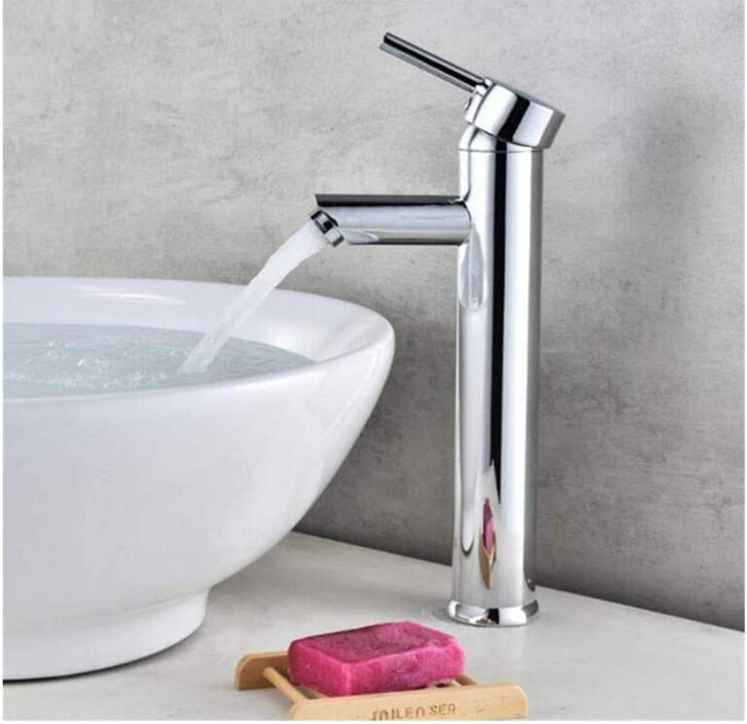Modern Double Basin Sink Hot and Cold Water Faucetfaucet Tall Sink Single Handle Washbasin Tap