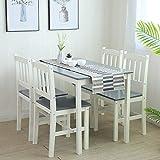 Tischgruppe mit 1 Tisch 4 Stühle Essgruppe Esstischset Sitzgruppe Esstischgruppe Esszimmergarnitur...