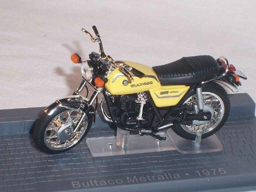 bultaco Metralla 1975 Gelb 1/24 Altaya By ixo Modellmotorrad Modell Motorrad SondeRangebot