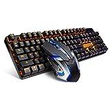 Hexiao Mechanische Tastatur und Maus Desktop-Notebook-Kabel-Headset xiao1230