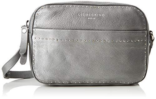 Liebeskind Berlin Slcambags Slov2m schoudertas, zilver (Iron Silver), 6,0x23.0x16.0 cm