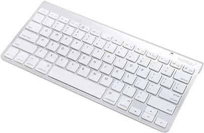 FLAMEER Drahtlose 3 0 Slim Tastatur Wireless Keyboard f r PC ios Android Windows