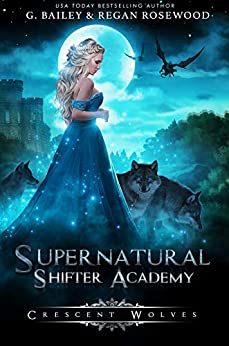 """alt=""""Secret societies. Magical boarding schools. Supernatural beings…What could go wrong?  I'm Millie Brix and apparently, I'm a supernatural shifter. Funny eighteenth birthday present, right?  Chosen for Supernatural Shifter Academy, I have to learn which shifter clan I belong to and how to use my powers that are slowly growing out of control. Supernatural Shifter Academy only has five hundred places and if I'm not strong enough to survive, I won't get to walk away.  The Sirens lure you in, the Wolves bite first and ask questions later, the Dragons only care for themselves, the Vampires plan to own the world and the Witches will do whatever it takes to win.  I'm not going to let the academy or its students beat me, that's for sure.  With a prince of the Vampires seducing me, a secretive Siren dead set on making me his, a gorgeous Wolf shifter who wants to claim my heart and an alpha Dragon who sees me as a prize he wants to keep… the academy is far more dangerous than it looks.  In this academy, secrets are the only thing you can trade with and I'm right in the middle of the biggest secret the academy has.  And when the truth comes out…the academy will fall.  17+ Reverse Harem Romance which means the main character will have more than one love interest. This is book one of a five-book series and will be rapidly released."""""""