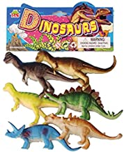 Rvold Dinosaurs Animals Plastic Toys - Small (6pcs per Pack)