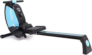 Hem gym roddmaskin, magnetiskt spänningssystem, 8 nivåer spänningsvred, justerbar enkel platsbesparing, LED-display skärma...