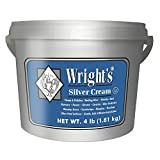 Wright's Silver Cleaner and Polish Cream - 4 Pounds - Ammonia Free - Gently Clean and Remove Tarnish...