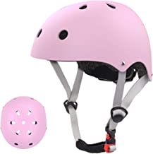 EXZ Kids Helmet Adjustable Toddler to Youth(Age 2-16 Years Old) CPSC Certified Bike Helmet for Skateboarding Roller Skating Scooter Riding Bicycling Skating and More