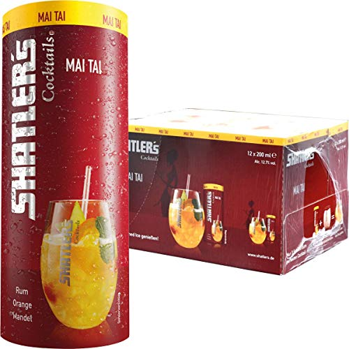 Shatler's Cocktail Mai Tai Packung 12x0,2 l