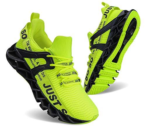 Damen Laufschuhe Gehen Sportlich für Frauen Beiläufig Ausrutschen Mode Sports Outdoor-Schuhe