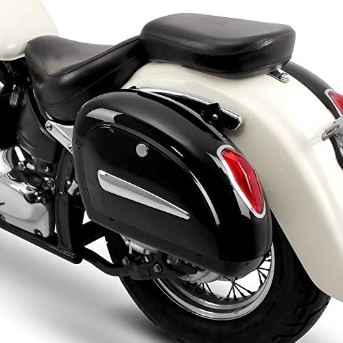 Alforjas rigidas (par) Moto Custom Craftride Michigan 18l