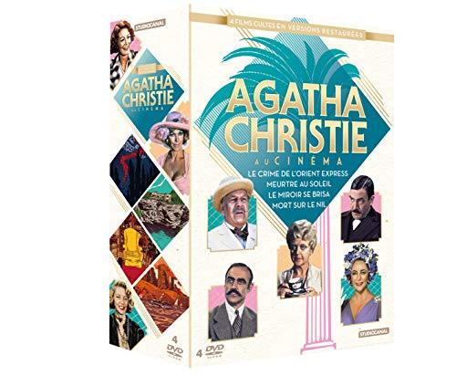 Agatha Christie-Coffret-Le Miroir se Brisa + Meurtre au Soleil + Mort sur Le Nil + Le Crime de l'Orient Express