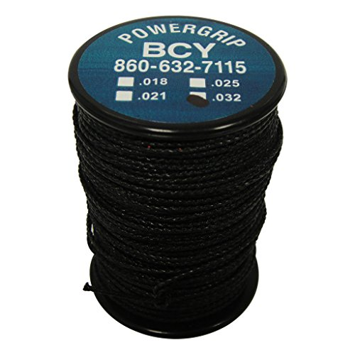 BCY Power Grip Serving Black .032 40 yds.