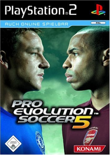 Konami - Pro Evolution Soccer 5 (Platinum)