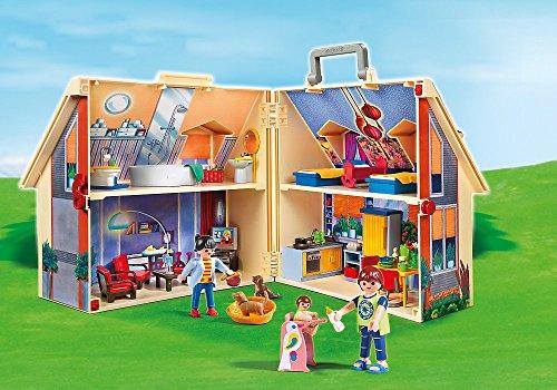 Playmobil - Jeu de construction - Maison transportable - 5167 - 129...