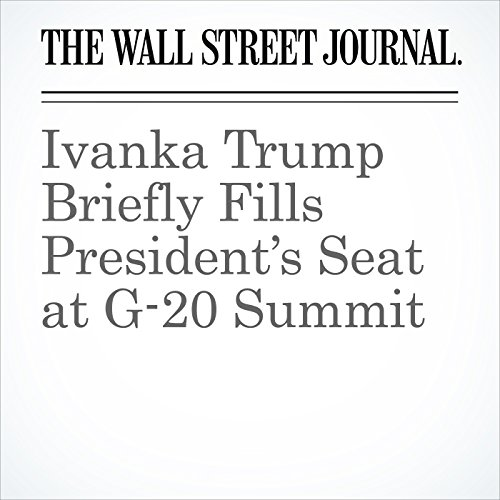 Ivanka Trump Briefly Fills President's Seat at G-20 Summit copertina