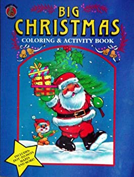 Paperback Big Christmas Coloring and Activity Book