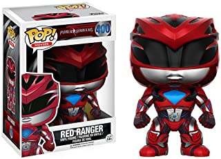 Funko POP Movies: Power Rangers Red Ranger Toy Figure