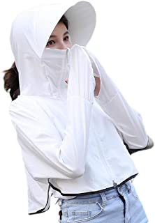 FSSE Womens Sun UV Protection Cycling Summer Hooded Jacket Coat Outerwear