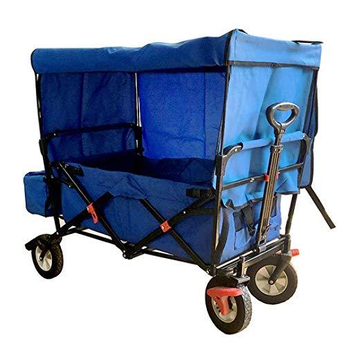 Pull Cart, Portable Shopping Tour Car Tool multifunktionalen Outdoor-Campingplatz Strand Angeln Handwagen
