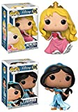 Funko POP! Disney Princess: Aurora + Jasmine – Stylized Vinyl Figure Set NEW