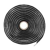 X AUTOHAUX 12 Ft Butyl Sealant Tape Sound Deadening Rope Tape for Car RV Windshield Headlight Door