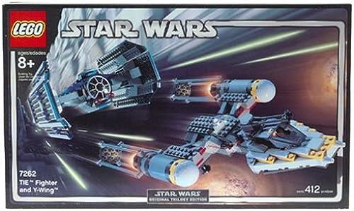 cómodo LEGO Star Star Star Wars Tie Fighter & Y-Wing  toma