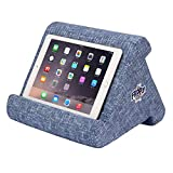 Flippy Multi-Angle Soft Pillow Lap Stand for Tablets, eReaders, Smartphones, Books, Magazines (Blue are You)
