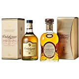 Dalwhinnie 15 Year Old Whisky and Cardhu Gold Reserve Single Malt Scotch Whisky, 2 x