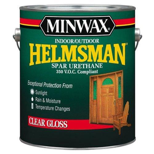 Minwax 132150000 Helmsman Indoor/Outdoor Spar Urethane 350 VOC, 1 gallon, Gloss
