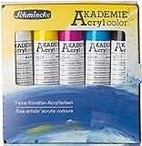 Schmincke HORADAM - Set de acuarelas, 5tubos de 20ml–Colores primarios