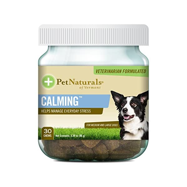 Pet Naturals of Vermont – Calming, Behavior Support for Medium & Large...