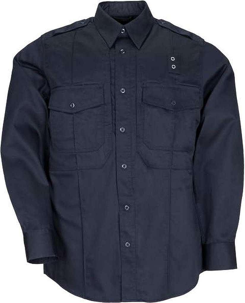 5.11 Men's Max 90% OFF Taclite Class B PDU Midnight Sleeve Shirt Navy Bombing free shipping Long