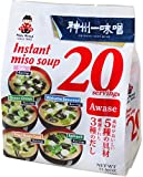 Miyasaka Miso Soup 20 Piece Value Pack, Awase, 11.36 Ounce (Pack of 1)