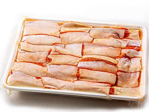 紅鮭ハラス(カット)1kg(ブランド鮭 ベニサケ)天然鮭 はらす(脂の乗った部位) しぐれ煮(美味 海鮮ギフト) 贈り物に