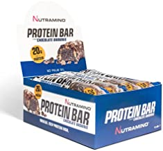 Protein Bar Chocolate Brownie 64gr Nutramino Pack of 12 Estimated Price : £ 19,99