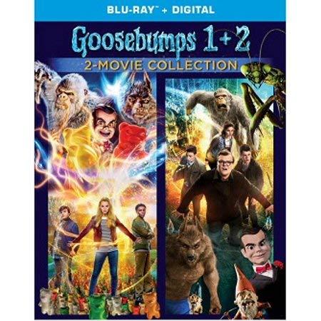 Goosebumps: 2-Movie Collection (Goosebumps / Goosebumps 2) [Blu-ray + Digital HD]
