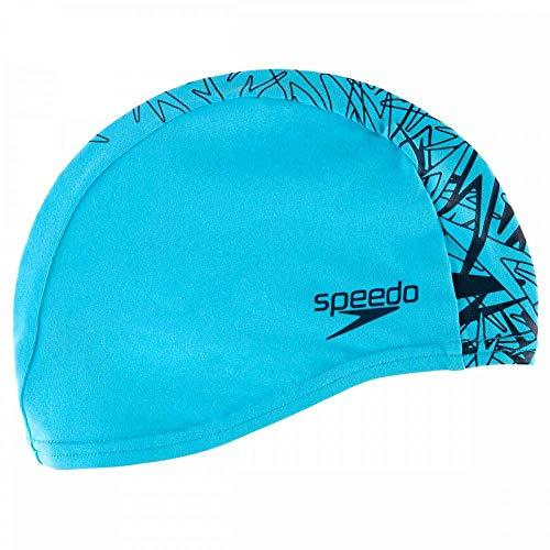 Speedo Boom End+ Gorros de natación, Adult Unisex, Azul, Talla única