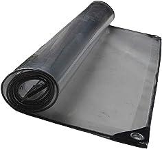LIXIONG dekzeil transparant verdikt stofdicht, stofdicht PVC lichttransmissie regendoek, 18 maten (kleur: helder, grootte:...
