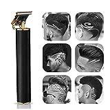 Haarschneider für Männer - USB Wiederaufladbarer elektrischer Barbershop-Akku-Haarschneider, 1,5...