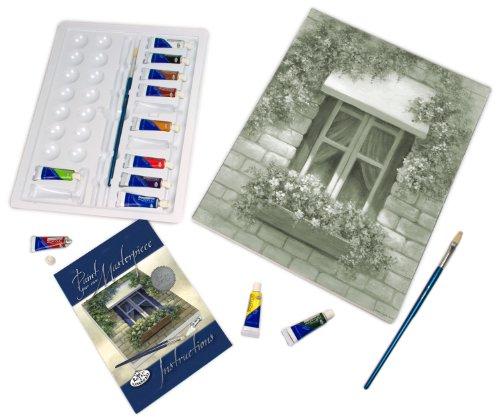 Royal & Langnickel POM-SET8 Peindre sa Propre oeuvre d'art Fenêtre européenne