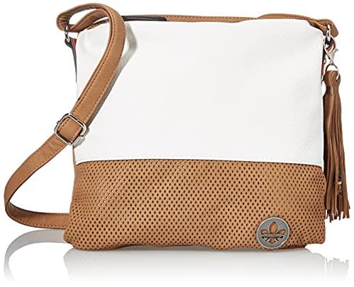 Rieker Damen H1342 Handtasche, Beige Kombi, 260x50x270 cm (B x H x T)